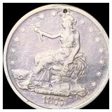 1877-S Silver Trade Dollar LIGHTLY CIRCULATED