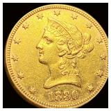 1880 $10 Gold Eagle CLOSELY UNCIRCULATED