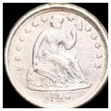 1856 Seated Half Dime ABOUT UNCIRCULATED