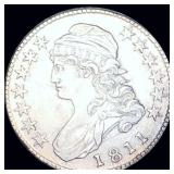 1811 Capped Bust Half Dollar ABOUT UNCIRCULATED