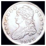 1812 Capped Bust Half Dollar NEARLY UNC