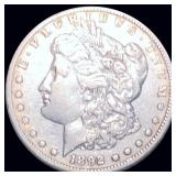 1892-CC Morgan Silver Dollar LIGHTLY CIRCULATED