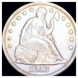 1853 Seated Liberty Dollar UNCIRCULATED
