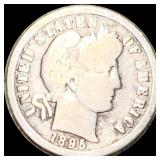 1895-O Barber Silver Dime NICELY CIRCULATED