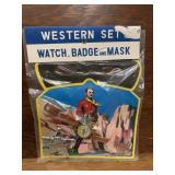 Vintage Western Toy Set-Lone Ranger MOC