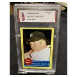 Mickey Mantle Red Seal Card Graded Gem Mint 10