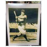 Lou Gehrig Signature Photo w/Hologram Sticker