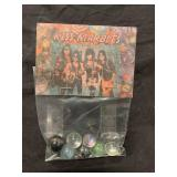 Vintage KISS Marbles in Store Bag Sealed