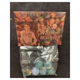 Vintage John Wayne Marbles MIP MIB In Store Bag