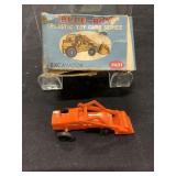 Vintage Blue Box Excavator Mini Size Toy Car IN Bx