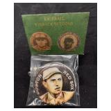 Boston Red Sox Engle Button In Package