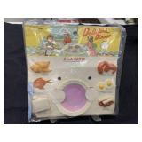 Vintage Dime Store Toy Delicious Dinner MOC