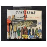 Box of Civilians For HO & OO Scale Railroad