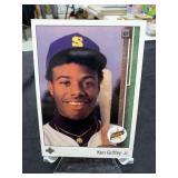 "Large 6"" x 5"" Ken Griffey Jr. Upper Deck Rookie"