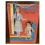 Rare INDIAN Paper Dolls In Book Sealed