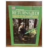 Vintage 1983 Star Wars ROTJ Activity Book Unused