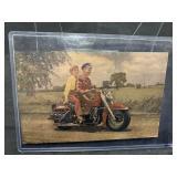 Vintage UNUSED Harley Davidson Post Card