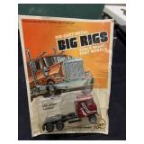 Vintage BIG RIGS Truck 1/6 Hot Wheel Size MOC MIP