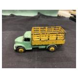 Vintage DINKY Dodge Stake Bed Farm Truck Toy Car