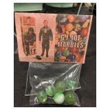 Vintage G.I. Joe Marbles In Store Bag