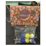 Vintage MOON PIE Marbles In Bag