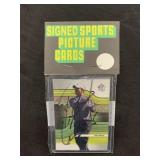 Tiger Woods Signed Golf Card in Pack