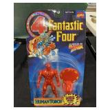 Vintage Fantastic Four Human Torch Figure MIP MOC