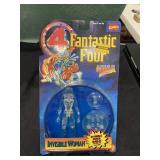 Vintage Fantastic Four Invisible Woman Figure MIP