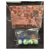 Vintage Mount Rushmore Marbles In Bag