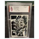 The Beatles Graded Near Mint 9 Card-105