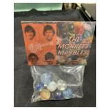 Vintage The Monkees Marbles In Bag