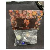 Vintage Dracula Marbles In Bag