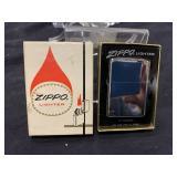 Vintage Zippo Lighter In Original Box-200