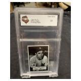 Yogi Berra 52 Small Printing Plate Card Graded Gem