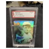 Babe Ruth Hologram Card Graded Gem Mint 10