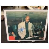 Michael Jordan Signature Photo w/Hologram Sticker