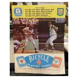 1972 Reds Vs. Braves Hank Aaron Pete Rose Score Cr