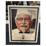 Vintage 1966 KFC Col Sanders Advertisement