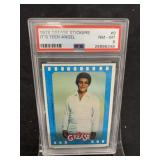 1978 Grease Sticker Card-PSA Graded 8-Teen Angel