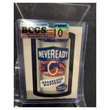 Wacky Packages Neveready Graded Gem Mint 10
