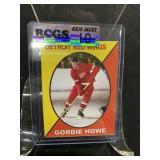 Gordie Howe Hockey Card Graded Gem Mint 10