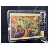 1956 Air Force Adventure Card Graded Gem Mint 10