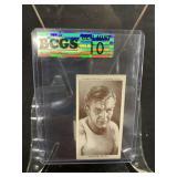 Vintage Neusel Boxing Card Graded Gem Mint 10
