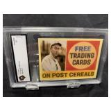 Ty Cobb Post Card Graded Gem Mint 10