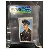 German Nazi Tobacco Card Graded Gem Mint 10-Blk