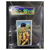 German Nazi Tobacco Card Graded Gem Mint 10-37