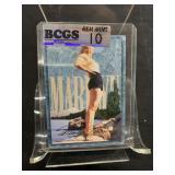 Marilyn Monroe Card Graded Gem Mint 10-42