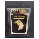 Vintage Airborne Transfer Graded Gem Mint 10