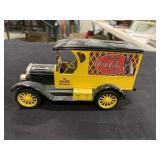 Vintage Metal Coke Truck Bank-Heavy, Nice. Model T
