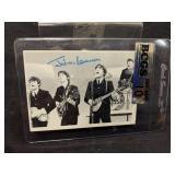 Vintage Beatles Graded Gem Mint 10 Card-Lennon